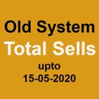 Your total Sells as on 15-05-2020