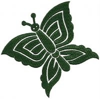 Butterfly embroidary desigjn