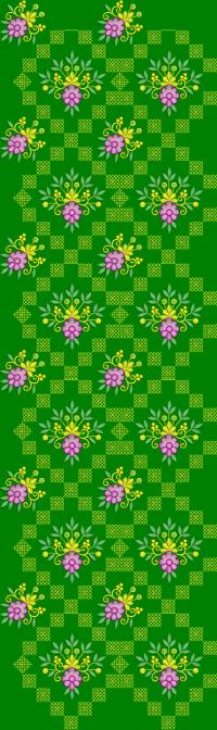 Sequence Cross Stitch Garment Design