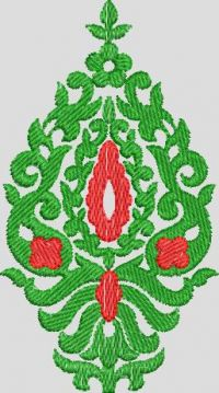 Free hand embroidary design