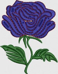 Flower butta embroidery design