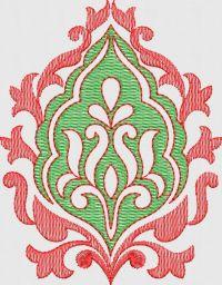 tatami stitch butta embroidary design