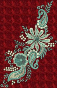 Beautiful Kurti Embroidery Design