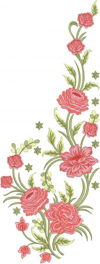Flower Kurti Designs