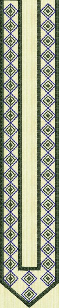Men's kurta embroidary design