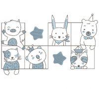 baby animals  Applique Embroidery design