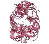 Clothes Fabric decor tatoos Women's Fashion Embroidery Design