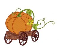 Pumpkin Food&drink Embroidery Design