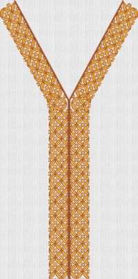 Men's kurta embroidary design