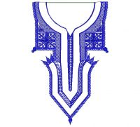 Exclusive Mens Neck Embroidery Design