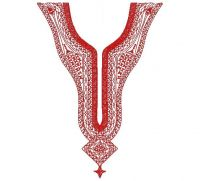 Stylish Neck Embroidery Design for Men