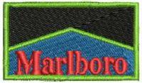 Marlboro Logo  Embroidery design