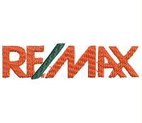 RE MAX Logo  Embroidery design