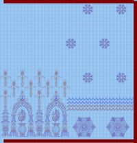 Chain patli pallu sarees design