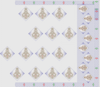 Butta pallu sarees design