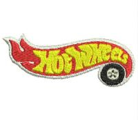 Hot wheels  Logo  Embroidery design