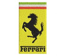 FERRARI Logo  Embroidery design