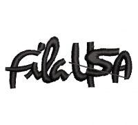 FILA USA Logo  Embroidery design