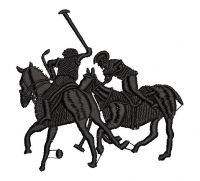 CAVALOS Logo  Embroidery design