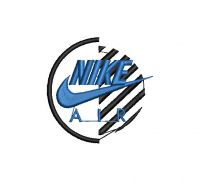 NIKE Logo  Embroidery design