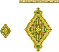 Neck embroidery design for Mens Kurta