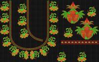 Lotti coconut hand blouse embroidary desugn