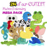 214 Of Our Cutest Machine Embroidery Designs