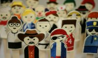 20 Pack Easy In The Hoop People Finger Puppets
