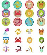 MASSIVE 24 Design Zodiac Mega Pack Embroidery Designs