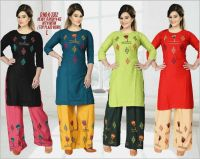 kurti suit embroidery