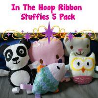 In The Hoop Ribbon Stuffies 5 Pack