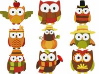 Autumn Owls Entire Pack