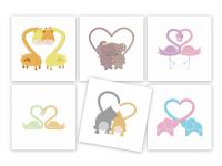 Animal Hearts Machine Embroidery Super Pack