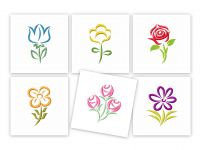Satin Flowers Machine Embroidery Super Pack
