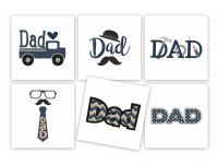 Dad Pack Father's Day Embroidery Designs Pack