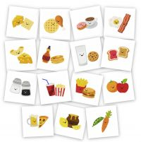 Perfect Food Pairs Embroidery Pack