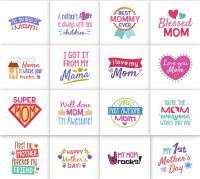 16 Mothers Day Quotes Embroidery Pack