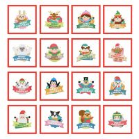 16 Merry Christmas Labels