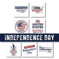 7 Independence Day Embroidery Design Pack