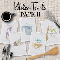 Kitchen Towels Pack II Embroidery Design Pack