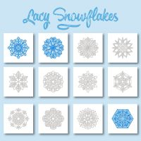 Christmas Week Day 4 – Lacy Snowflakes Embroidery Designs Pack