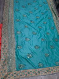 diamond saree