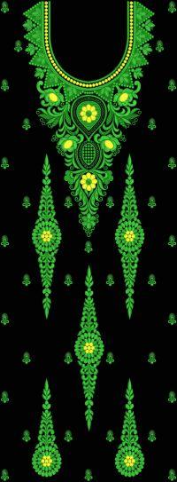 neck embroidery design 250
