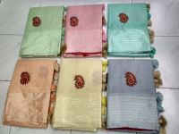fancy buta consept saree