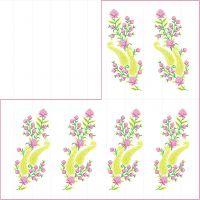 Pallu embroidery design