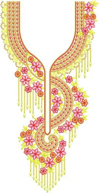 neck embroidery design +250