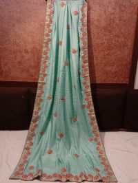 SONAM SAREE EMBROIDERY DESIGN