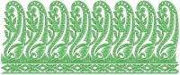 lace & border embroidery design