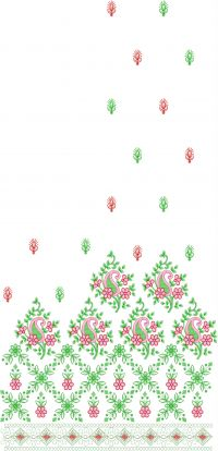 packing saree embroidery design