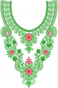 NECK EMBROIDERY+250